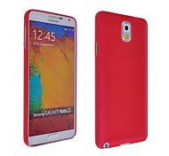 Ultra Soft Case Thin helada para Samsung Galaxy Note 3 (varios colores)