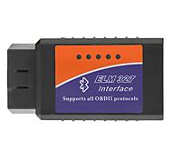 OBDII Bluetooth автомобиля диагностический кабель - черный + синий + оранжевый (DC 12V)