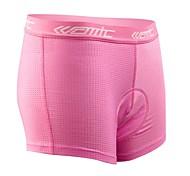 SANTIC Sottopantaloncini da ciclismo Per donna Bicicletta Shorts Intimo/Sottopantaloncini Pantaloncini imbottiti di protezione Pantaloni