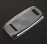 Чистый шаблон прозрачный пластиковый жесткий задняя крышка Крышка для Nokia Asha 305