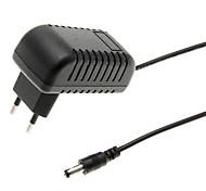 Недорогие -LD-010 ЕС Plug адаптер питания для охранной сигнализации (черный, 100 ~ 240 В)