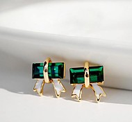 cheap -Women's Stud Earrings Crystal Alloy Jewelry Daily Costume Jewelry