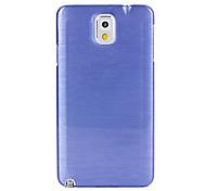 Pour Samsung Galaxy Note Other Coque Coque Arrière Coque Couleur Pleine Polycarbonate Samsung Note 3