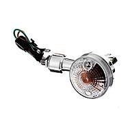 Недорогие -DIY Водонепроницаемые Сигналы поворота желтый свет для мотоциклов Silver (AC12-16V 8W 2 шт)