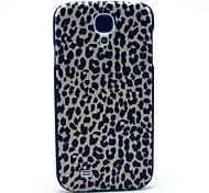 For Samsung Galaxy Case Pattern Case Back Cover Case Leopard Print PC Samsung S4