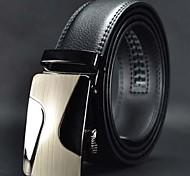 Недорогие -Мужская мода High Grade Автоматическая пряжка кожаный ремень