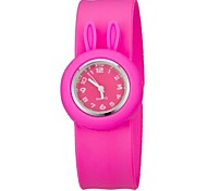 Children's Colorful Bendable Silicone Band Slap Watch Cool Watches Unique Watches Strap Watch