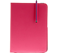 cheap -360°Rotation Luxury PU Leather Case+HD Protector+OTG Cable+Stylus Pen for Samsung Galaxy Tab3 P5200/P5210