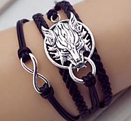 cheap -Women's Leather Wrap Bracelet - Bracelet For Party Daily