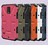 For Samsung Galaxy Case Shockproof / with Stand Case Back Cover Case Armor PC Samsung S5 / Note 2