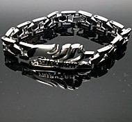 Jewelry Inspired by Fairy Tail Naruto Uzumaki Anime Cosplay Accessories Bracelet Silver Alloy Male