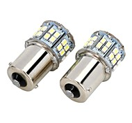 cheap -SO.K 2pcs 1156 Light Bulbs SMD LED 700-800lm Tail Light For universal
