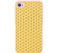 Gridding Design Silikon Soft Case für iPhone 4/4S (verschiedene Farben)