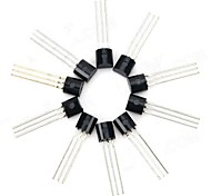 cheap -30V NPN Triode Power Transistor Package Transistor - Black (10 PCS)
