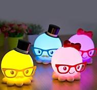 Strange New Cute Octopus Model Energy-Saving Small Night Light LED Desk Lamp