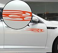 Недорогие -Красный потока Лайнер Pattern Декоративные автомобиля стикер