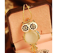 cheap -Women's Pendant Necklace - Fashion Owl Snowflake Necklace For Special Occasion Birthday Gift