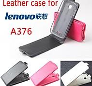 For Lenovo Case Flip Case Full Body Case Solid Color Hard PU Leather Lenovo