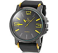 V6® Men's Watch Sports Big Numerals Dial Silicone Strap Cool Watch Unique Watch Fashion Watch