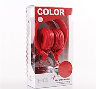EP05  With Microphone Over-Ear  Headphone for Mobile Phone Computer and MP3(Assorted Color)