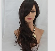 24Inch Capless Long High Quality Synthetic Wave Soft Hair Wig Mix 2/33
