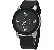 cheap -Women's Quartz Wrist Watch Casual Watch Silicone Band Charm Fashion Black