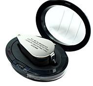 Недорогие -zw9890 40x цельнометаллический с высоким разрешением увеличительное стекло лупа микроскоп со светодиодной currengy обнаружения