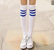 Socks/Stockings Sweet Lolita Classic/Traditional Lolita Lolita Lolita Lolita Accessories Stockings Print Striped For Nylon