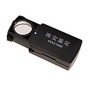 45x 21mm ювелирных изделий лупа с 1-LED белый свет (3 х LR1130)