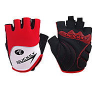 Nuckily Sports Gloves Bike Gloves / Cycling Gloves Wearable Breathable Wearproof Protective Anti-skidding Shockproof Fingerless Gloves