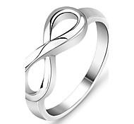 Недорогие -Женский Классические кольца бижутерия Стерлинговое серебро Бижутерия Назначение Свадьба Для вечеринок Повседневные