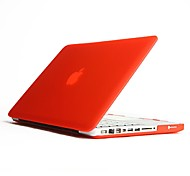 """Case for Macbook Pro 13.3"""" Solid Color Plastic Material Solid Color Frosted PC Hard Case"""