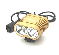 Bike Lights LED 3000 Lumens 3 Mode Cree XM-L T6 18650 Impact Resistant Rechargeable Waterproof Camping/Hiking/Caving Everyday Use
