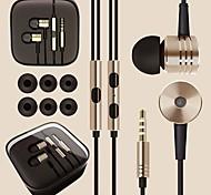 dsd® qualidade superior 3,5 milímetros som surround liga de fone de ouvido fone de ouvido para telefones Andriod (cores sortidas)