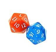 Недорогие -20 Стороны 5 шт Забавный Юмор азартные игры Бар Dice Красочные Dice (случайный цвет)