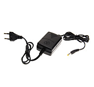 EU Plug DC 12V to AC 110-240V 1A 12W LED Power Adapter High Quality