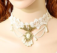 Necklace Choker Necklaces Collar Necklaces Statement Necklaces Vintage Necklaces Tattoo Choker Jewelry Wedding Party Tattoo StylePearl