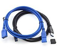 Недорогие -3м 9,84 супер скорость USB 3.0 от мужчины к женщине кабеля для передачи данных расширения и бесплатной доставкой