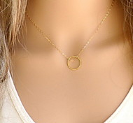 cheap -Women's Pendant Necklace - Fashion Simple Style Jewelry Gold Silver Necklace For Party Daily Casual