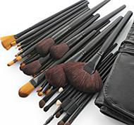 Набор профессиональных кистей для макияжа из шерсти козы, 32 шт., кейс в подарок