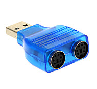 cheap -USB 2.0 Male to PS/2 Adapter