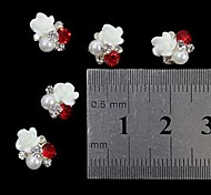 cheap -10 Pearls Nail Jewelry Other Decorations Fruit Flower Abstract Classic Cartoon Lovely Wedding Punk Daily Fruit Flower Abstract Classic