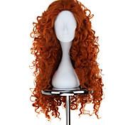 cheap -Cosplay Wigs Brave Mavis Anime Cosplay Wigs 75 CM Heat Resistant Fiber Women's