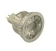 GU5.3(MR16) Lâmpadas de Foco de LED MR16 1 leds COB Regulável Branco Quente Branco Frio 500-550lm 2800-3000/6000-6500K DC 12V