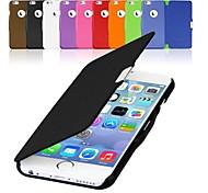 Für iPhone 6 Hülle / iPhone 6 Plus Hülle Flipbare Hülle / Magnetisch Hülle Handyhülle für das ganze Handy Hülle Einheitliche Farbe HartPU