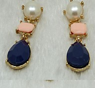 cheap -Women's Drop Earrings Fashion Imitation Pearl Acrylic Alloy Jewelry Wedding Party Daily Casual Costume Jewelry