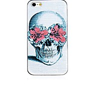 christian cross pattern cornice nera posteriore Case for iPhone 4 / 4s
