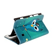 cheap -Case For Nokia Lumia 520 Nokia Nokia Case Card Holder Wallet with Stand Full Body Cases Owl Hard PU Leather for