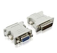 0.1m 0.328ft DVI (24 +5) мужчин и VGA розеткой