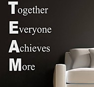 JiuBai™ Team Quote Wall Sticker Wall Decal